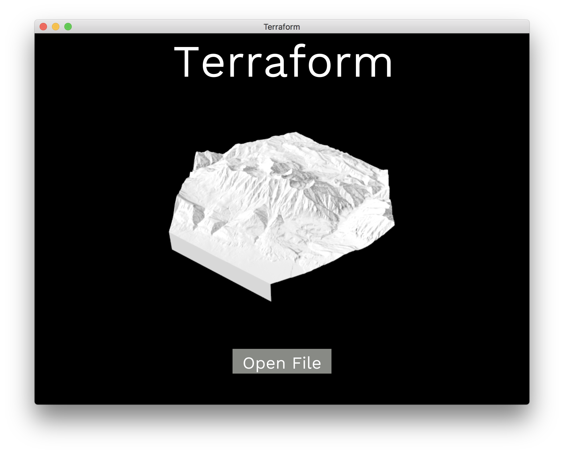 Terraform screenshot